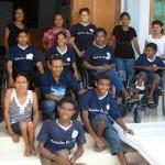 East Timor team