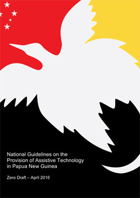Cover page of guidelines