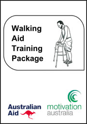 Cover of walking aids training package