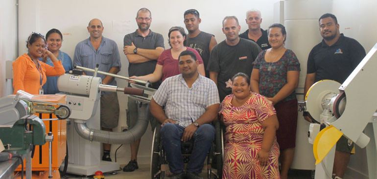Group photo of MDS staff