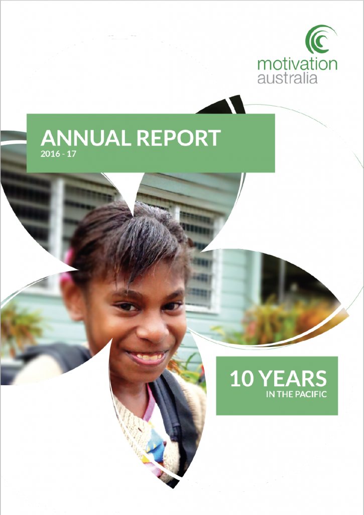 Annual Report 2016-17 cover page.