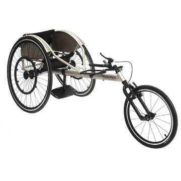 Flying start wheelchair