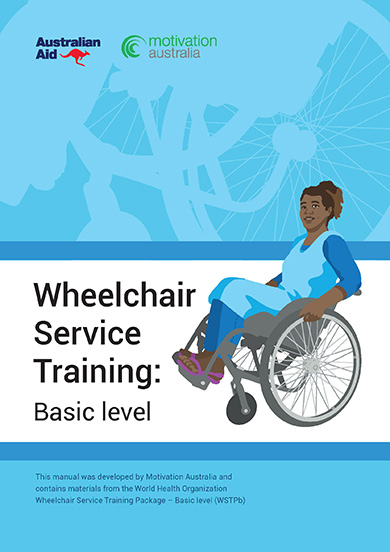 Wheelchair service training: basic level cover page.