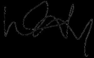 Louise's signature.
