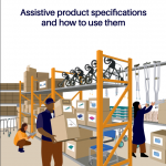 Assistive Product Specifications cover page.